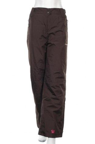 Дамски панталон за зимни спортове, Размер XL, Цвят Зелен, Полиестер, Цена 22,52лв.