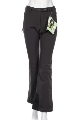 Дамски панталон за зимни спортове Crane, Размер M, Цвят Сив, 94% полиестер, 6% еластан, Цена 42,84лв.