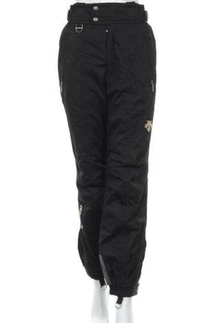 Дамски панталон за зимни спортове Descente, Размер XS, Цвят Черен, Цена 47,09лв.