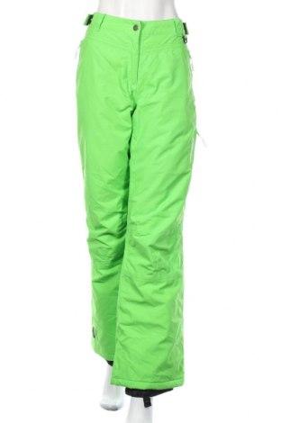 Дамски панталон за зимни спортове Icepeak, Размер L, Цвят Зелен, Полиамид, Цена 32,03лв.