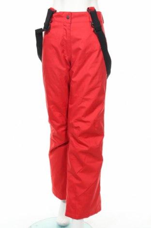 Дамски панталон за зимни спортове Skibum, Размер L, Цвят Червен, Полиестер, Цена 32,55лв.