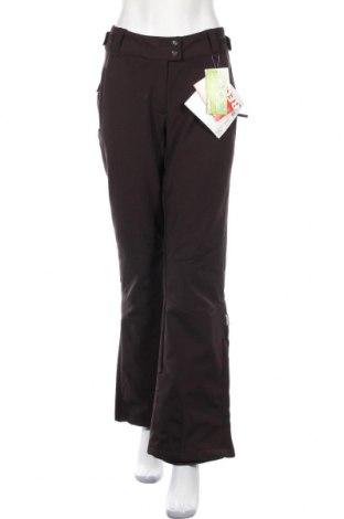 Дамски панталон за зимни спортове TCM, Размер M, Цвят Кафяв, 95% полиестер, 5% еластан, Цена 24,57лв.