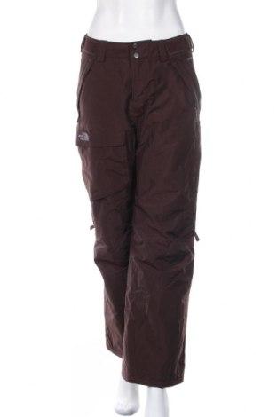 Дамски панталон за зимни спортове The North Face, Размер S, Цвят Кафяв, Полиамид, Цена 83,16лв.