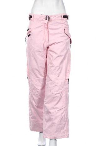 Дамски панталон за зимни спортове US40, Размер M, Цвят Розов, Полиестер, Цена 30,71лв.