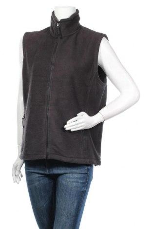 Дамски поларен елек Russell, Размер XL, Цвят Сив, Полиестер, Цена 11,34лв.