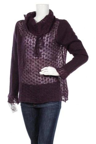 Дамски пуловер Animale, Размер L, Цвят Лилав, 50% мохер, 30% акрил, 20% полиамид, Цена 12,08лв.
