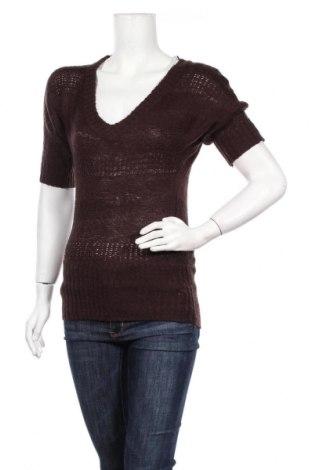 Дамски пуловер Ambiance, Размер S, Цвят Кафяв, Акрил, Цена 7,35лв.