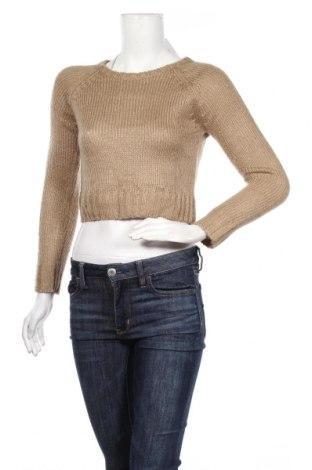 Дамски пуловер Ambiance, Размер S, Цвят Кафяв, Акрил, Цена 16,38лв.