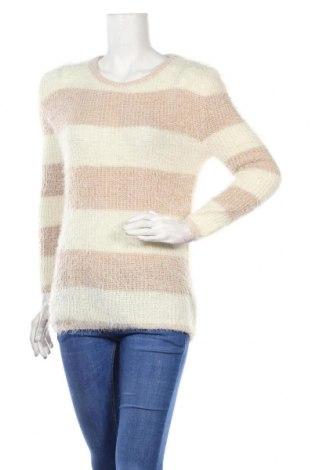 Дамски пуловер Angelie, Размер L, Цвят Бял, 50% полиамид, 50% акрил, Цена 11,34лв.