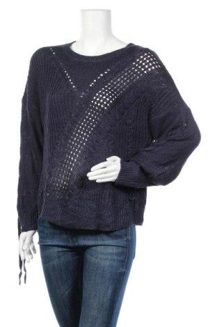 Дамски пуловер B Collection, Размер M, Цвят Син, Акрил, Цена 37,91лв.