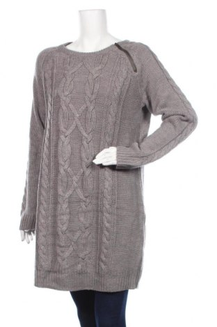 Дамски пуловер Bpc Bonprix Collection, Размер XL, Цвят Бежов, Полиакрил, Цена 23,94лв.