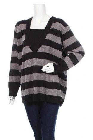Дамски пуловер Bpc Bonprix Collection, Размер 4XL, Цвят Черен, Акрил, Цена 23,94лв.