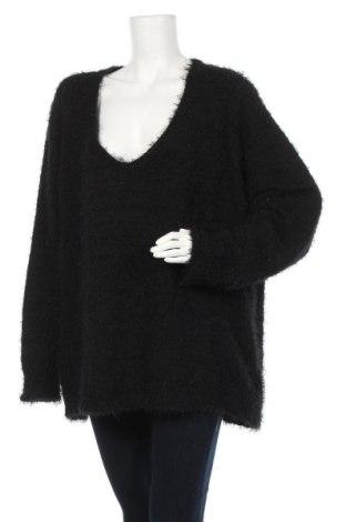 Дамски пуловер Bpc Bonprix Collection, Размер 5XL, Цвят Черен, 60% полиестер, 40% полиакрил, Цена 27,93лв.