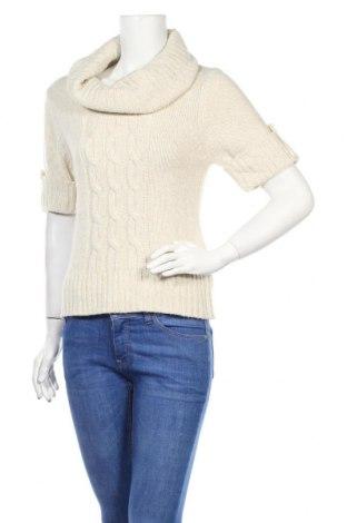 Дамски пуловер F&F, Размер M, Цвят Бежов, Акрил, Цена 17,64лв.
