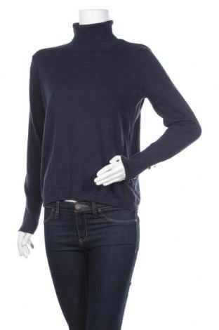 Дамски пуловер Hampton Republic, Размер M, Цвят Син, Цена 10,92лв.