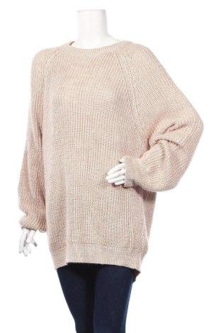 Дамски пуловер Pull&Bear, Размер XL, Цвят Розов, Цена 29,40лв.