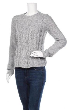 Дамски пуловер Tex, Размер M, Цвят Сив, 85% акрил, 15% вълна, Цена 21,26лв.