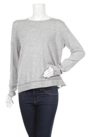 Дамски пуловер Tommy Hilfiger, Размер L, Цвят Сив, 90% вълна, 10% кашмир, Цена 57,86лв.