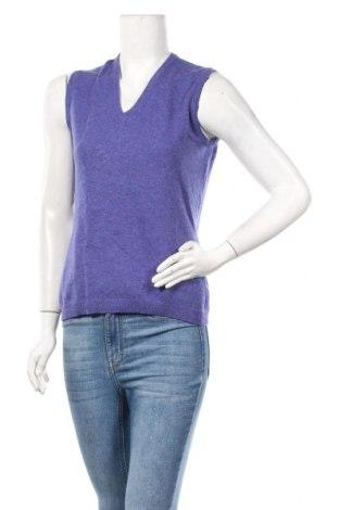 Дамски пуловер United Colors Of Benetton, Размер S, Цвят Лилав, Цена 28,93лв.