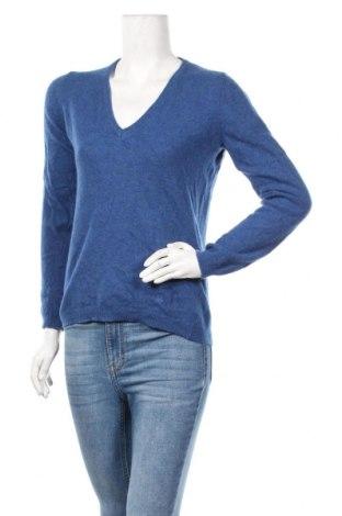 Дамски пуловер United Colors Of Benetton, Размер S, Цвят Син, Цена 31,92лв.