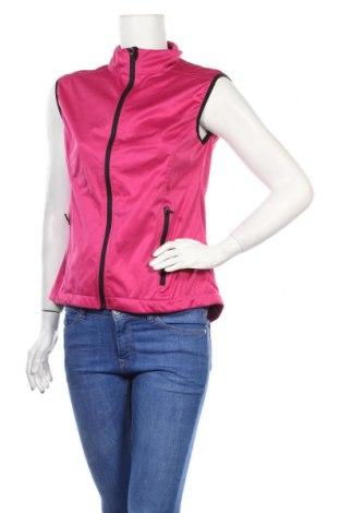 Дамски спортен елек Crane, Размер S, Цвят Розов, Полиестер, Цена 12,08лв.