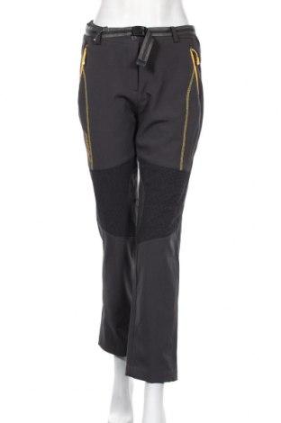 Дамски спортен панталон, Размер S, Цвят Сив, 95% полиестер, 5% еластан, Цена 20,79лв.