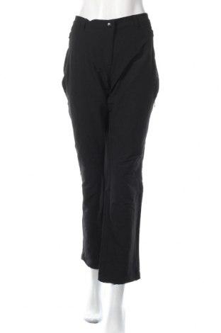 Дамски спортен панталон, Размер XL, Цвят Черен, 92% полиестер, 8% еластан, Цена 24,57лв.