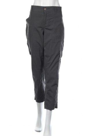 Дамски спортен панталон Clothing & Co, Размер L, Цвят Сив, 98% памук, 2% еластан, Цена 11,55лв.