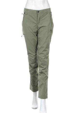 Дамски спортен панталон Odlo, Размер M, Цвят Зелен, 95% полиамид, 5% еластан, Цена 48,95лв.