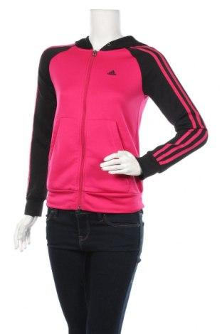 Дамски суичър Adidas, Размер XS, Цвят Розов, Полиестер, Цена 16,38лв.