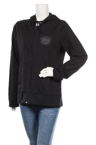 Дамски суичър Crivit, Размер XL, Цвят Черен, 95% памук, 5% еластан, Цена 22,68лв.
