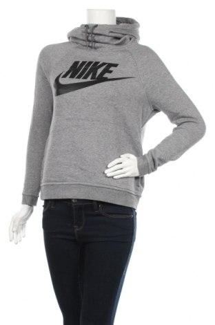 Дамски суичър Nike, Размер S, Цвят Сив, 63% памук, 19% полиестер, 18% вискоза, Цена 41,90лв.