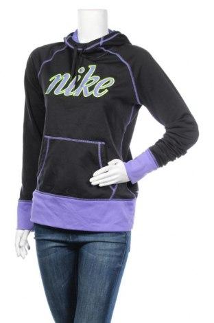 Дамски суичър Nike, Размер M, Цвят Черен, 80% полиестер, 20% еластан, Цена 23,21лв.