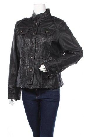 Дамско кожено яке Arma, Размер XL, Цвят Черен, Естествена кожа, Цена 61,52лв.