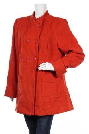 Дамско палто Target, Размер XXL, Цвят Оранжев, Полиестер, вискоза, еластан, Цена 15,70лв.