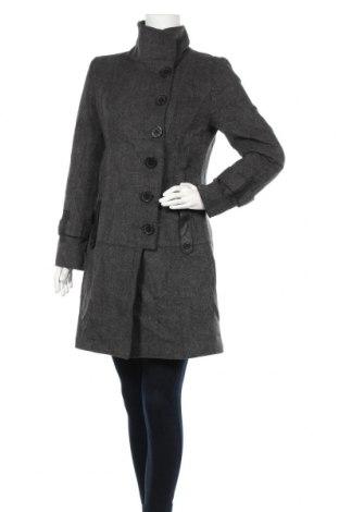 Дамско палто Tommy Hilfiger, Размер M, Цвят Сив, 60% вълна, 20% полиестер, 20% вискоза, Цена 135,66лв.