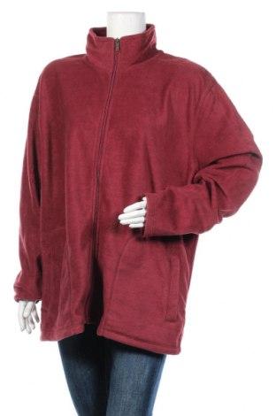 Дамско поларено горнище Canda, Размер XXL, Цвят Червен, Полиестер, Цена 13,97лв.