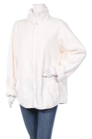 Дамско поларено горнище Janina, Размер XXL, Цвят Бял, Полиестер, Цена 19,85лв.