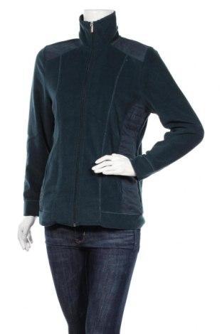 Дамско поларено горнище Michele Boyard, Размер L, Цвят Зелен, Полиестер, Цена 16,38лв.