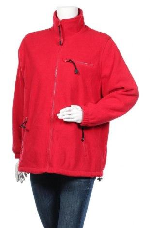 Дамско поларено яке, Размер XL, Цвят Червен, Полиестер, Цена 30,24лв.
