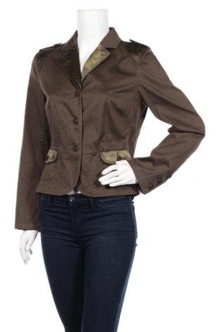 Дамско сако Apart, Размер M, Цвят Кафяв, 98% памук, 2% еластан, Цена 19,80лв.