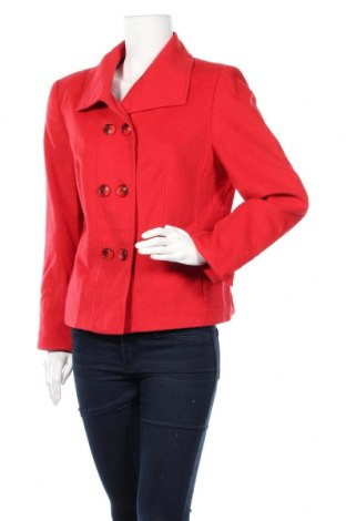 Дамско сако Gerry Weber, Размер L, Цвят Червен, 85% вълна, 10% коприна, 5% полиамид, Цена 42,75лв.