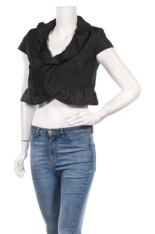 Дамско сако Perri Cutten, Размер S, Цвят Черен, 91% полиестер, 9% метални нишки, Цена 11,83лв.