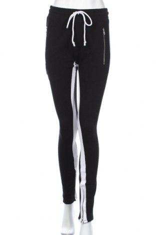 Дамско спортно долнище, Размер S, Цвят Черен, 50% памук, 50% полиестер, Цена 19,85лв.