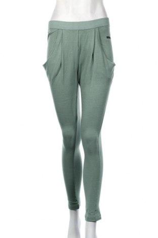 Дамско спортно долнище Adidas By Stella McCartney, Размер S, Цвят Зелен, 53% памук, 44% модал, 3% еластан, Цена 35,44лв.
