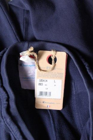 Дамско спортно долнище Champion, Размер L, Цвят Син, 100% памук, Цена 51,75лв.