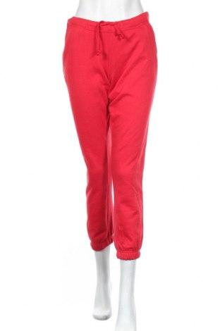 Дамско спортно долнище Clique, Размер S, Цвят Червен, 65% полиестер, 35% памук, Цена 11,97лв.