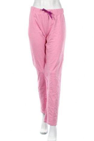 Дамско спортно долнище Cotton, Размер XL, Цвят Розов, Цена 16,96лв.