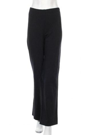 Дамско спортно долнище KappAhl, Размер XL, Цвят Черен, 92% памук, 8% еластан, Цена 23,52лв.