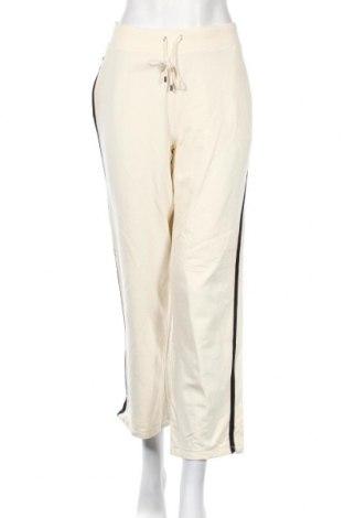 Дамско спортно долнище Liz Claiborne, Размер M, Цвят Екрю, 94% памук, 6% еластан, Цена 14,96лв.